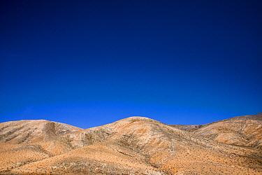 Rolling volcanic hills, Parque Rural de Betancuria in Fuerteventura, Spain