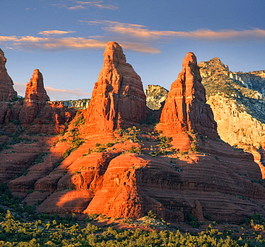 Pinnacles, The Two Nuns, Coconino National Forest, Arizona