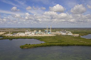 Turkey Point Nuclear Power plant, Biscayne Bay, Florida