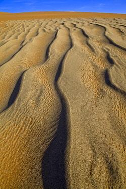 Sand patterns, Sossusvlei, Namib-Naukluft National Park, Namibia