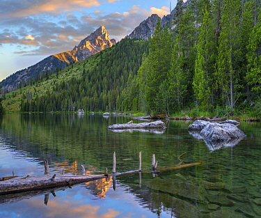 String Lake and the Grand Tetons, Grand Teton National Park, Wyoming