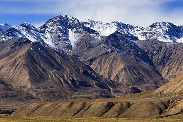 Mountain range, Ak-Shyirak Range, Sarychat-Ertash Strict Nature Reserve, Tien Shan Mountains, eastern Kyrgyzstan