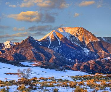 Mount Herard, Great Sand Dunes National Park, Sangre de Cristo Range, Colorado
