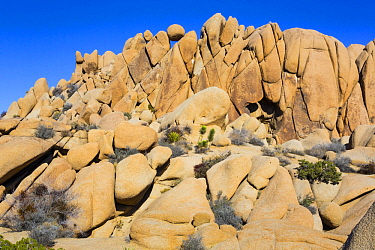 Rock formation, Giant Marbles, Joshua Tree National Park, California