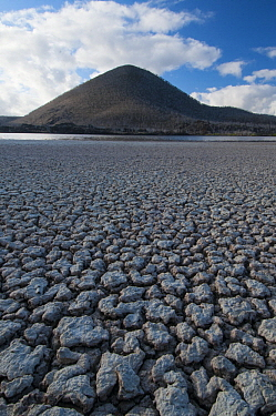 Dry lagoon, Floreana Island, Galapagos Islands, Ecuador