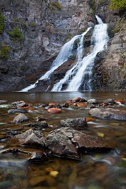 Caribou Waterfall, Lake Superior, Tofte, Minnesota