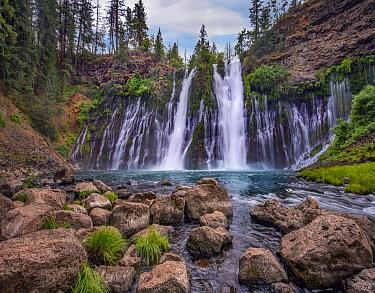 Waterfall, McArthur-Burney Falls Memorial State Park, California