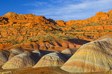 Bentonite clay deposits, Vermilion Cliffs National Monument, Arizona