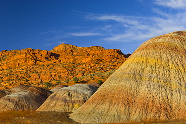 Bentonite hills, Vermilion Cliffs National Monument, Arizona