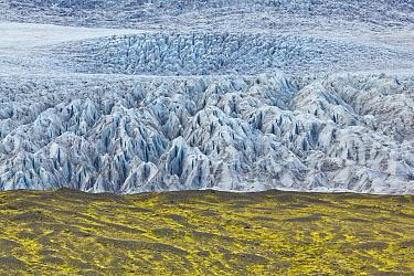 Glacier, Breidamerkurjokull, Jokalsarlon Lagoon, Iceland