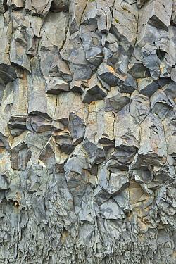 Massive basalt columns in cliffs, Reynisdrangar, Iceland