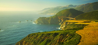 Coastline, Hurricane Point, Big Sur, California