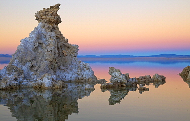 Calcium tufa formations, Mono Lake, California