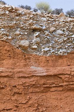 Sandstone and gravel, Utah