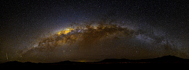 Milky way over altiplano, Bolivia