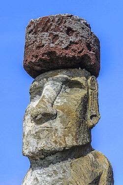 Moai statue, Ahu Tongariki, Easter Island, Chile