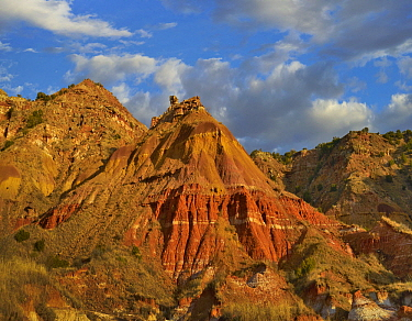 Rock formation, Palo Duro Canyon State Park, Texas