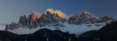 Mountains, Geislerspitzen, Dolomites, Italy