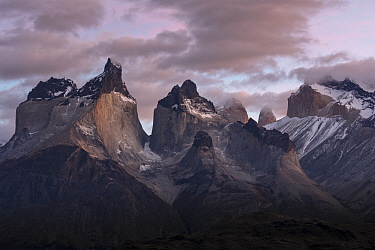 Mountains, Paine Massif, Torres del Paine, Torres del Paine National Park, Patagonia, Chile