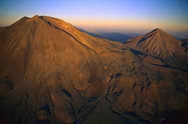 Volcan de las Virgenes and Volcan Del Azufre, El Vizcaino Biosphere Reserve, Baja California, Mexico  -  Patricio Robles Gil/ Sierra Madr