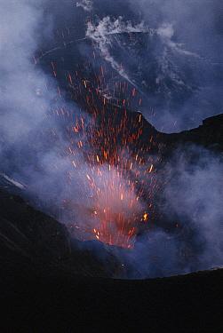 Yasur Volcano erupting, Tana Island, Vanuatu Archipelago, New Hebrides  -  Patricio Robles Gil/ Sierra Madr