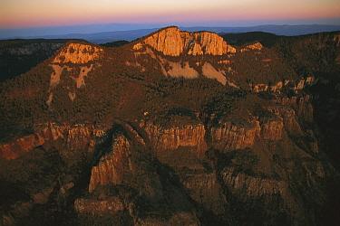Mountains of Sierra del Carmen tower 5,000 over the desert floor, eastern Sierra Madre Range, Mexico  -  Patricio Robles Gil/ Sierra Madr