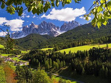 Mountains, Geislerspitzen, Dolomites, Alps, South Tyrol, Italy