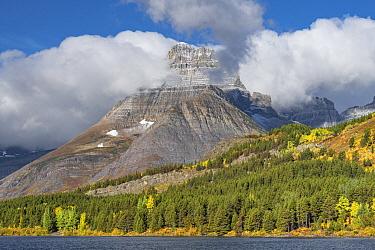 Mount Wilbur and Swiftcurrent Lake, Many Glacier, Glacier National Park, Montana