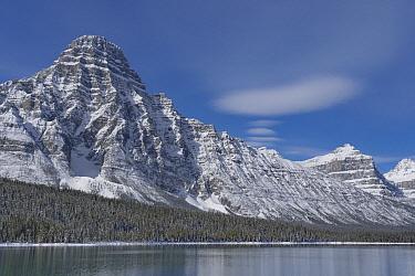 Mount Chephren and Waterfowl Lake, Banff National Park, Alberta, Canada