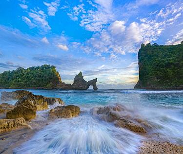 Rock arch, Atuh Beach, Nusa Penida, Bali, Indonesia