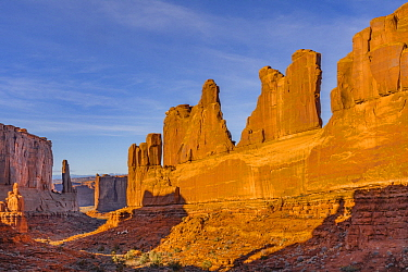 Park Avenue view, Arches National Park, Utah