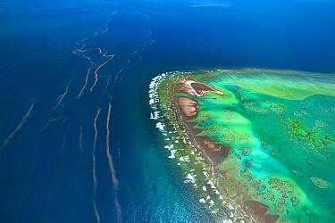 Red tide, One Tree Island, Great Barrier Reef, Queensland, Australia