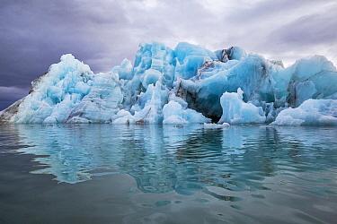 Iceberg, Yoldiabukta, Isfjorden, Svalbard, Norway