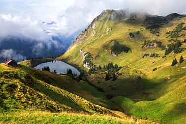 Alpine lake, Oberstdorf, Bavaria, Germany