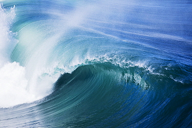 Wave breaking, Western Cape, South Africa