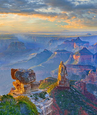 Mount Hayden, North Rim, Grand Canyon National Park, Arizona