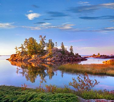 Coast along Georgian Bay, Killarney Provincial Park, Ontario, Canada