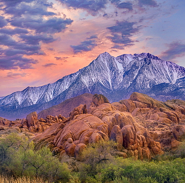 Sierra Nevada, Alabama Hills, California
