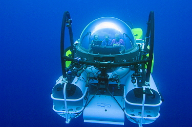 Research submersible, Cocos Island, Costa Rica