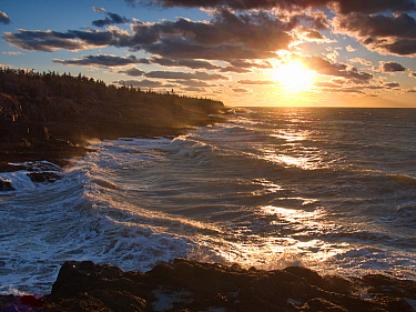 Coast, Bay of Fundy, Nova Scotia, Canada