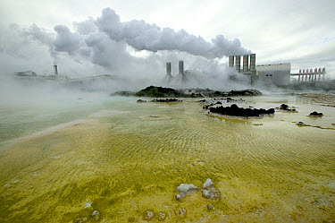 Svartsengi geothermal power plant, Reykjanes Peninsula, Iceland  -  Cyril Ruoso