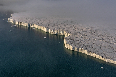 Glacier, Franz Josef Land, Russia
