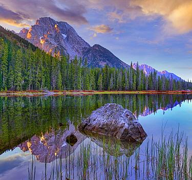 Mount Moran and String Lake, Grand Teton National Park, Wyoming