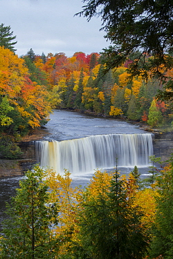 Waterfall, Tahquamenon Falls, Michigan