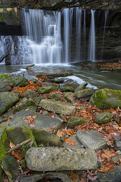 Waterfall, northern Ohio
