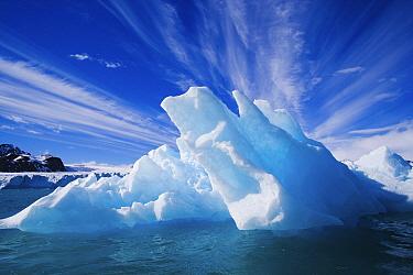 Small iceberg in fjord, Svalbard, Norway
