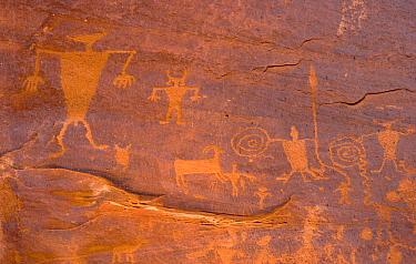 Petroglyphs, Colorado River, Utah