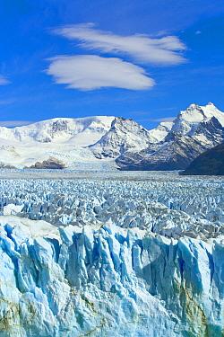Perito Moreno Glacier and peaks Argentine Lake, Los Glaciares National Park, Patagonia, Argentina