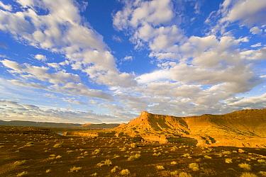 Cumulus clouds over desert, Glen Canyon National Recreation Area, Utah