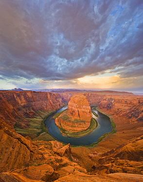 Colorado River at Horseshoe Bend, Colorado River, Glen Canyon National Recreation Area, Arizona